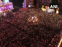 Navratri 2019 : उमिया मंदिरात नवरात्रानिमित्त महाआरती सोहळा
