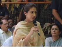 हॅशटॅग 'आपली मुंबईची मुलगी'सह उर्मिलाचा सोशल मीडियावर प्रचार