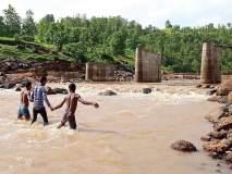 हिंबटपाड्यातील आदिवासींची जीव धोक्यात घालून पायपीट