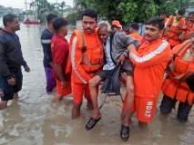 गुजरातमध्ये पावसाचा हाहाकार; 138 लोकांना NDRF ने एअरलिफ्ट