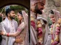 विराट-अनुष्का साजरा करत आहेत लग्नाचा पहिला वाढदिवस