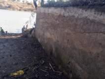 पूरसंरक्षक भिंतींमुळे मिळाला पलूसला आधार