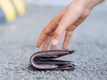 आधी पाकीट हरवलं अन् अचानक बॅंक खात्यात येऊ लागले पैसे, कारण कळाल्यावर झाला अवाक्...