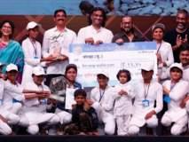 Water cup competition :संयुक्त तिसरे बक्षीस वाशिमच्या बोरव्हा बु. गावाला