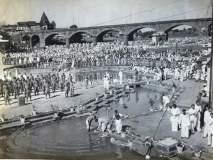 Mahatma Gandhi Death Anniversary : हजारोंच्या उपस्थितीत रामकुंडात अस्थींचे विसर्जन