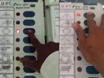 Video: 'दादा, हे बघा तुम्हालाच मत दिलं'; राष्ट्रवादीच्या कार्यकर्त्याकडून मतदानाचं FB LIVE