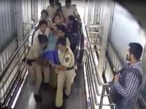 Video : शाब्बास महिला पोलिसांनो!हार्टअॅटॅक आलेल्या प्रवासी महिलेचे वाचवले प्राण
