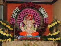 Ganesh Festival 2019 : गणपती बाप्पासाठी पर्यावरणपूरक आरास