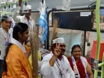 Maharashtra Election 2019 : आम आदमी पार्टीचा उमेदवार आला पीएमपीतून