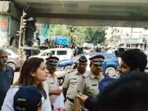 Aarey Forest : शिवसेना नेत्या प्रियंका चतुर्वेदी पोलिसांच्या ताब्यात