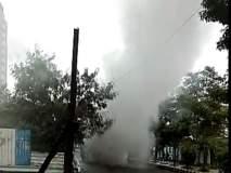 हिंजवडीमध्ये धावत्या 'पीएमपीएमएल' बसमधून धुराचे लोट