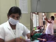 CoronaVirus News : कर्तव्यनिष्ठेला सलाम! 9 महिन्यांची गर्भवती नर्स करतेय कोरोनाग्रस्तांची सेवा, पंतप्रधानांनी केलं कौतुक