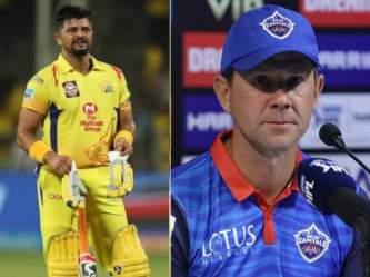 IPL 2021: CSK के खिलाफ मैच से पहले रिकी पोंटिंग का बयान, सुरेश रैना को लेकर कह डाली ये बड़ी बात - Marathi News | IPL 2021: Ricky Ponting's big statement about Suresh Raina before the match against Dhoni, said ... | Latest cricket Photos at Lokmat.com