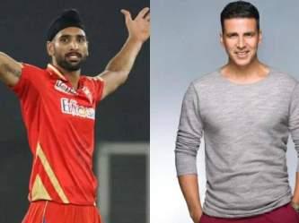 'Paise ke liye Turban nahi pehnte hum': When Punjab Kings' Harpreet Brar slammed Akshay Kumar | Latest Cricket Photos at english.lokmat.com