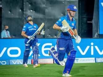 IPL 2021: मैच हारने के बाद भी फैंस का दिल जीत गए रोहित शर्मा, किया कुछ ऐसा कि केविन पीटरस सहित हर कोई कर रहा तारीफ - Marathi News | IPL 2021 : Rohit Sharma continually playing for a cause SAVING RHINOS, Kevin pietersen applause MI captain | Latest cricket Photos at Lokmat.com