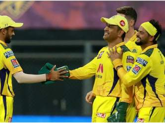 IPL 2021 Qualifier 1 CSK vs DC: चेन्नई सुपर किंग्स खेलेगी 23वां प्लेऑफ मैच, धोनी का रिकॉर्ड सबसे बेहतर, जानें - Hindi News   IPL 2021 Qualifier 1 CSK vs DC Chennai Super Kings play 23rd playoff match ms Dhoni strongest record   Latest cricket Photos at Lokmatnews.in