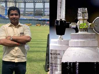 एफडी मोडून रुग्णांमध्ये फुंकतोय 'प्राण', भांडुपच्या 'ऑक्सिमॅन'चं विशाल योगदान - Marathi News | Huge contribution of visha of bhandup Pran, 'Oxyman' by breaking the FD kept for Phd in corona | Latest mumbai News at Lokmat.com