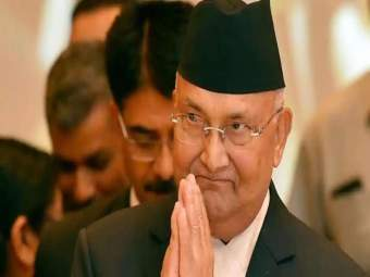Nepal : के.पी.शर्मा ओली पुन्हा नेपाळच्या पंतप्रधानपदी; विरोधकांनाही बहुमत सिद्ध करण्यात अपयश - Marathi News | K P Sharma Oli sworn in as Nepal Prime Minister vidya devi bhandari parliament | Latest international News at Lokmat.com