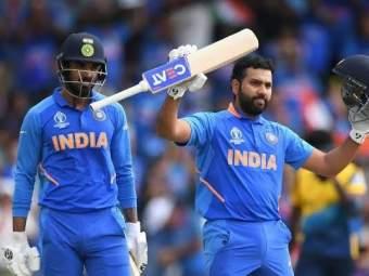 India vs West Indies : रोहित, राहुल आणि कोहलीने धू धू धुतले; वेस्ट इंडिजपुढे २४१ धावांचे आव्हान ठेवले