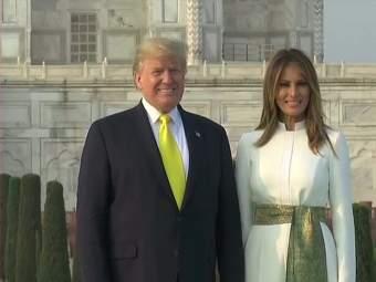 Donald Trump India Visit Live : डोनाल्ड ट्रम्प कुटुंबासह प्रेमाचं प्रतीक असलेल्या 'ताजमहाल' येथे दाखल