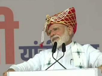 राम मंदिरावर बोलणाऱ्यांना नरेंद्र मोदींची हात जोडून विनंती; शिवसेनाही लक्ष्य!