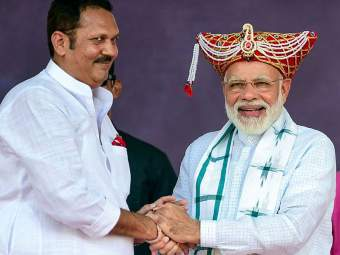 Maharashtra Election 2019: नरेंद्र मोदी 'आयर्न मॅन', उदनयराजेंकडून मोदींना सरदार पटेलांची उपमा