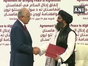 अमेरिकाआणि तालिबानमध्ये ऐतिहासिकशांतता करार, १४ महिन्यांत अफगाणिस्तान सोडणार