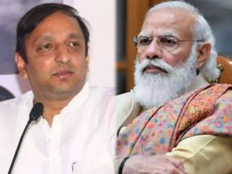"""भाजपा अत्यंत खोटारडा, विखारी व कांगावाखोर पक्ष""; Toolkit प्रकरणावरुन काँग्रेसचा घणाघात - Marathi News | Congress Sachin Sawant Slams BJP and Atul Bhatkhalkar over toolkit issue | Latest politics News at Lokmat.com"