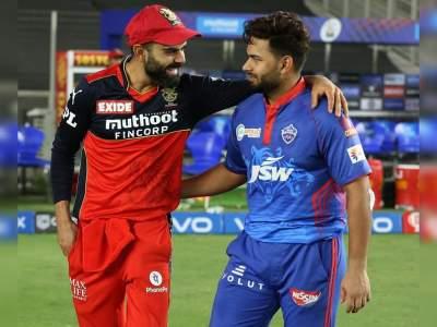 IPL 2021: 1 रन से मिली हार तो मैदान पर ही निराश होकर बैठ गए ऋषभ पंत-हेटमायर, फिर विराट कोहली ने किया दिल जीतने वाला काम - Hindi News | IPL 2021 : Sportman spirit of Virat Kohli, When Rishabh Pant & Hetmyer were disappointed, Virat went to them | Latest cricket Photos at Lokmatnews.in