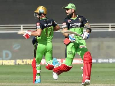 On This Day : 20 Six, 14 Fours; ९६ चेंडूंत कुटल्या गेल्या २२९ धावा; विराट कोहली- एबी डिव्हिलियर्सचा वर्ल्ड रेकॉर्ड!  - Marathi News | On This Day: Virat Kohli & AB de Villiers Double Hundred Stand vs Gujarat Lions in 2016 | Latest cricket News at Lokmat.com