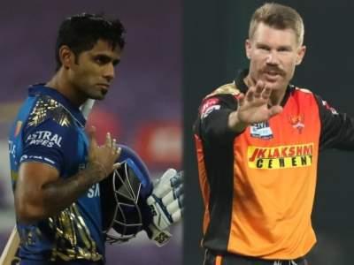 David Warner : सूर्यकुमार यादववर नाराज झालाय डेव्हिड वॉर्नर; ट्विट करून व्यक्त केली नाराजी - Marathi News | Can't Believe He's Left Me Out: David Warner Reacts To SuryaKumar Yadav's All-Time IPL XI | Latest cricket News at Lokmat.com