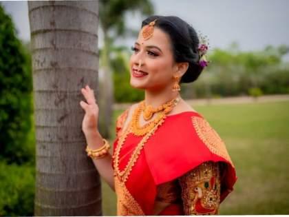 'Swarajya Rakshak Sambhaji' fame Prajakta Gaikwad's 'Lockdown Wedding', says - a new beginning ..! | 'स्वराज्य रक्षक संभाजी' फेम प्राजक्ता गायकवाडचं 'लॉकडाउन लग्न', म्हणतेय - नवीन सुरूवात..!