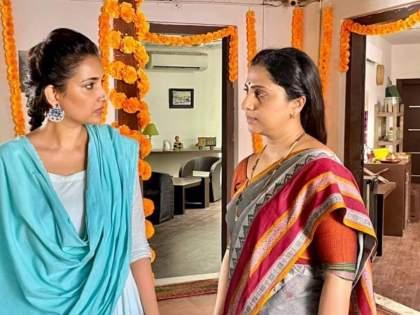 You will be amazed to see the offscreen chemistry of Arundhati and Sanjana in 'Where Mom Does What You Do', watch this video | 'आई कुठे काय करते'मधील अरुंधती आणि संजनाची ऑफस्क्रीन केमिस्ट्री पाहून व्हाल अवाक्, पहा हा व्हिडीओ