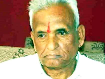 Big news; Ganapatrao Deshmukh passes away; He took his last breath in Solapur   माजी आमदार गणपतराव देशमुख यांचं निधन; सोलापुरात घेतला अखेरचा श्वास