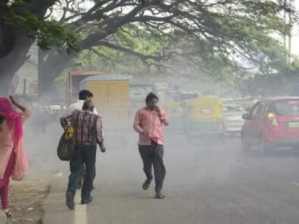 Solapur Municipal Adviser; Solapur movement was increased to reduce dust | सोलापूर महापालिका सर्तक; धूळ कमी करण्यासाठी सोलापुरातील हालचाली वाढल्या