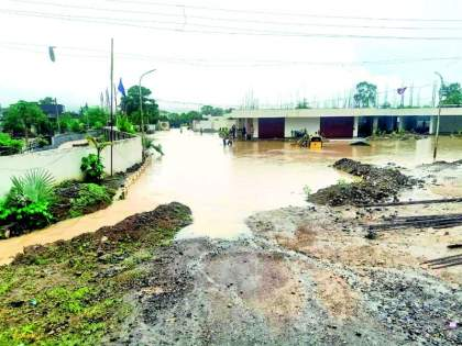 Continuous rain; Increase in reservoir levels | पावसाची संततधार; जलाशयांच्या पातळीत वाढ