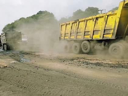 Drivers oppose road pollution | रस्ता प्रदूषणाला वाहनचालकांचा विरोध
