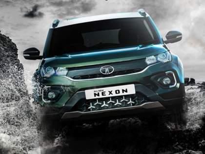 TATA Nexon is also likely to come in CNG; Spotted during testing in Pune | TATA Nexon सीएनजीमध्येही येण्याची शक्यता; पुण्यात टेस्टिंगवेळी झाली स्पॉट