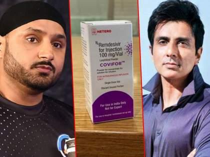 Sonu Sood arrives in 10 minutes for harbhajan singh with remdisivir enjection | 1 रेमडेसीवीर हवंय, Urgent, भज्जीच्या मदतीला 10 मिनिटांतच पोहोचला सोनू सूद