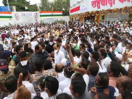 I will ask the organizers to take strict action In Pune; Deputy CM Ajit Pawar apologizes | 'मी आयोजकावर कडक कारवाई करण्यास सांगणार'; अजित पवारांनी व्यक्त केली दिलगिरी