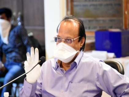"""If criminals are erecting my hoardings, then what is my fault in this"", Ajit Pawar's comment | ""गुन्हेगार माझे होर्डिंग्स लावत असतील तर यात माझा काय दोष"", अजित पवारांची टिप्पणी"