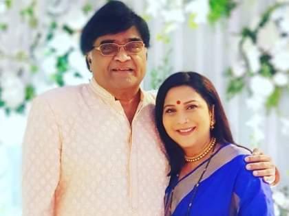 Nivedita and Ashok Saraf get together during the shoot of 'Navari Mile Navaryala'   'नवरी मिळे नवऱ्याला'च्या शूटदरम्यान निवेदिता आणि अशोक सराफ यांची जमली जोडी, अशी आहे हटके लव्हस्टोरी