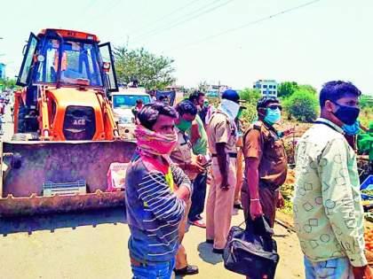 Three weekly market in Nagpur removed | नागपुरातील तीन आठवडी बाजार उठवले