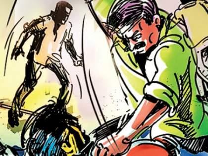 Shocking! Murder attack with a knife in Thane due to misunderstanding of swearing   धक्कादायक! शिवी दिल्याच्या गैरसमजूतीतून ठाण्यात एकावर चाकूने खूनी हल्ला