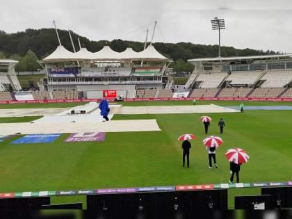 WTC final 2021 Ind vs NZ Test : Unfortunately there will be no play in the first session on Day 1 of the ICC World Test Championship final   WTC Final 2021 IND vs NZ : बीसीसीआयनं सांगितली वाईट बातमी, क्रिकेट चाहत्यांचा झाला हिरमोड