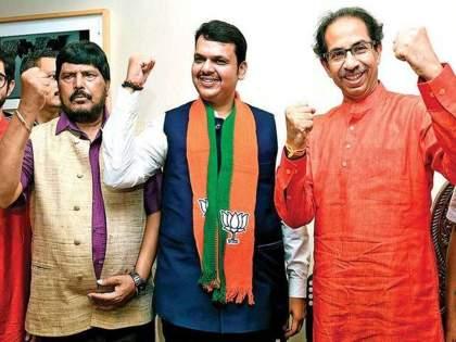 Ramdas Athawale Interview: Fadnavis should go to Matoshri, align with Uddhav Thackeray | Ramdas Athawale Interview:फडणवीसांनी मातोश्रीवर जावे, उद्धव ठाकरेंशी जुळवून घ्यावे; रामदास आठवलेंचा दोघांना सल्ला