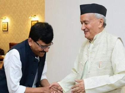 """If the government and Raj Bhavan continue to work together in the future, it will be in the interest of Maharashtra."" | सूर एकदमच बदलला; 'तुमची धोतरं पेटतील' म्हणणाऱ्या शिवसेनेनं मानले राज्यपालांचे आभार!"
