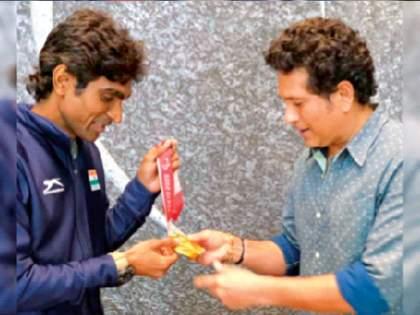 pramod bhagat says Sachin Tendulkar role model pdc | सचिन तेंडुलकरचा घेतला आदर्श: प्रमोद भगत