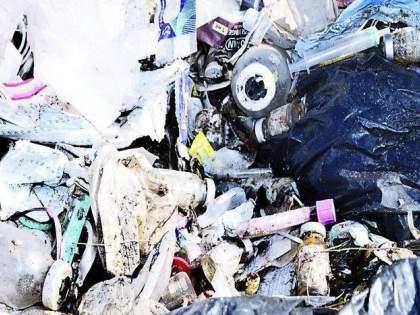 One and a half thousand kilos of 'covid bio waste' per day | दररोज दीड हजार किलो 'कोविड बायो वेस्ट'