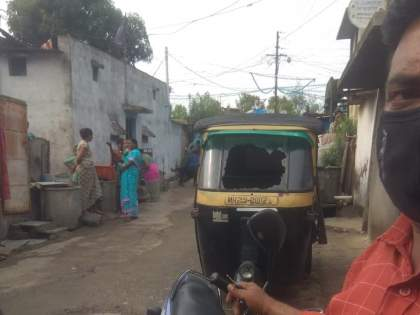 Eight autorickshaws vandalized in Yavatmal | यवतमाळमध्ये आठ ऑटोरिक्षांची तोडफोड, युवकाने घातला धुडगूस